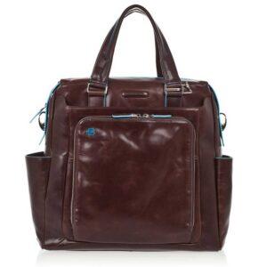 Shopping Bag Piquadro Blue Square CA3146B2