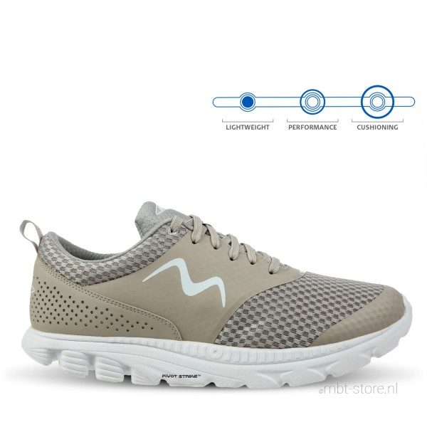 MBT SPEED 17 W LACE UP TAUPE