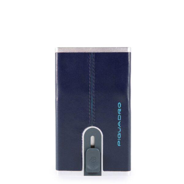Porta carte di credito con sliding system Piquadro